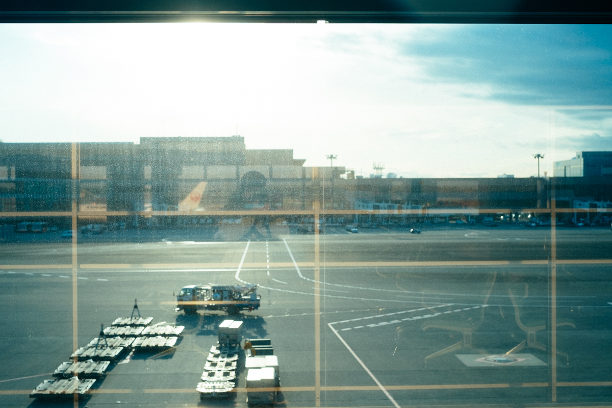 Narita International Airport.